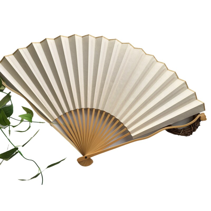 Blank Bamboo Elegant Fans Summer Chinese Style Vintage Personal Folding Fan Manual Decoration Vatilateur Home Garden AG50ZS enlarge