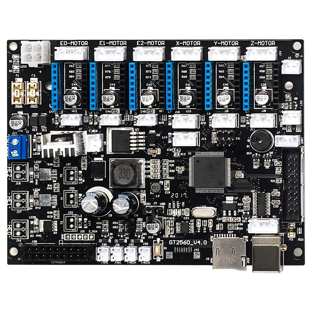 GEEETECH GT2560 V4.0 اللوحة الأم النسخة الجديدة المستخدمة لطابعات A10 ، A10M ، A10T ، A20 ، A20M و A20T ثلاثية الأبعاد