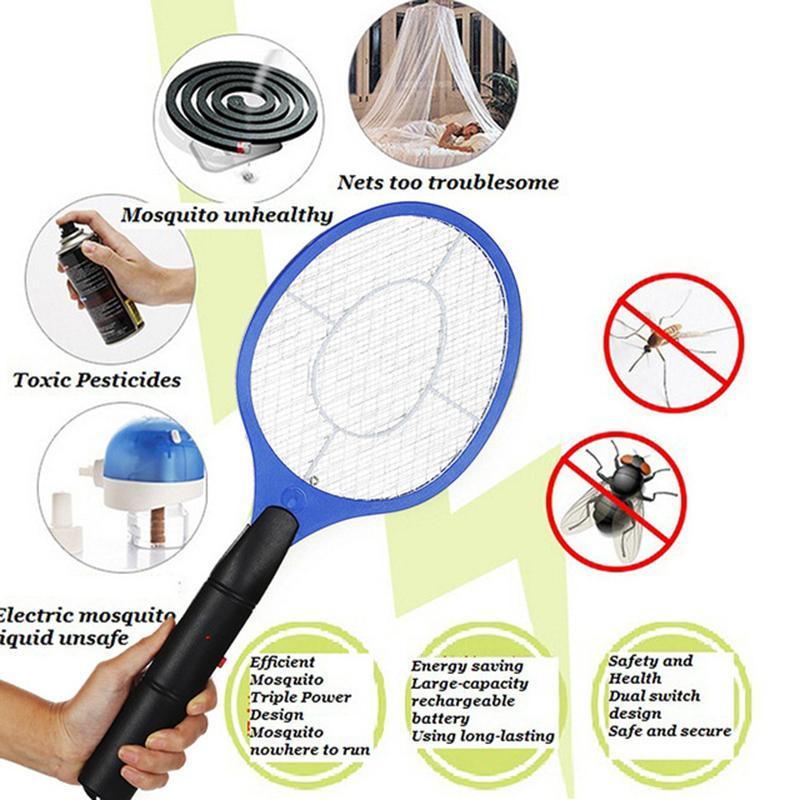 Sineklik elektrikli sivrisinek katili, böcek yok edici raketi, kablosuz pil, sivrisinek katiller