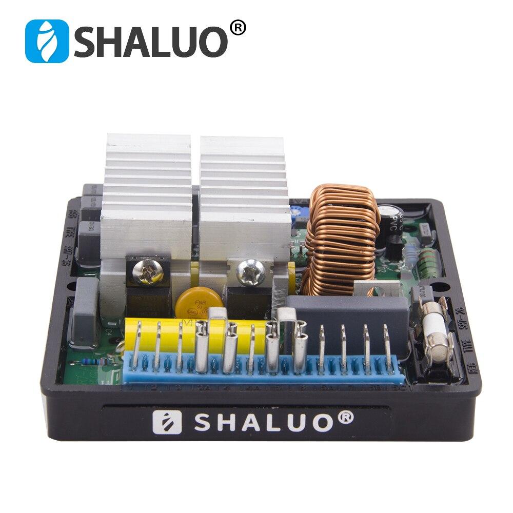 SHALUO منظم جهد كهربائي أوتوماتيكي AVR SR7 مثبت ل Mecc Alte مولد الديزل المولد أجزاء SR7-2G SR7-2 جودة عالية
