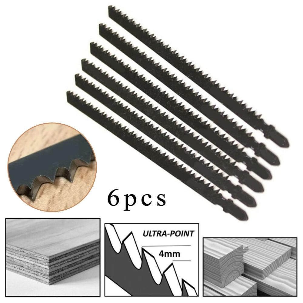 jigsaw black Set Saw Blades Industrial Tools Equipment Black Steel Jigsaw Fast Cutting