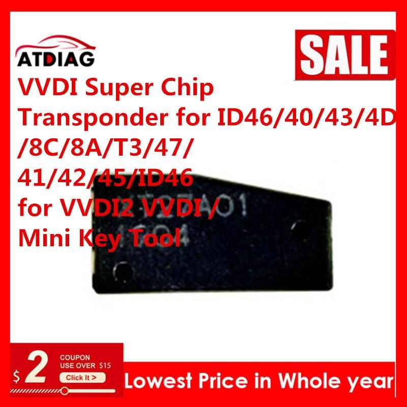 10-50 unids/lote Xhorse VVDI Super Chip XT27A01 XT27A66 Chip trabajo para llave VVDI herramienta/VVDI MINI herramienta clave