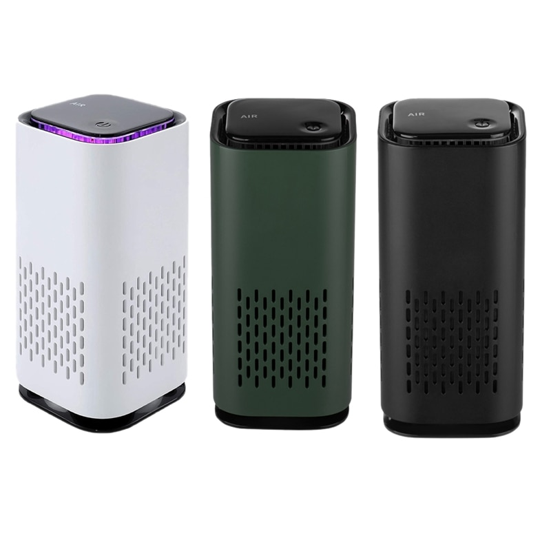 Car Air Purifier Cleaner Negative Ion USB Mini Home Vehicle Air Cleaner Remove Formaldehyde Air Purifier Car Accessories air purifier household negative ion air filter portable carry on necklace remove smoke formaldehyde purify air