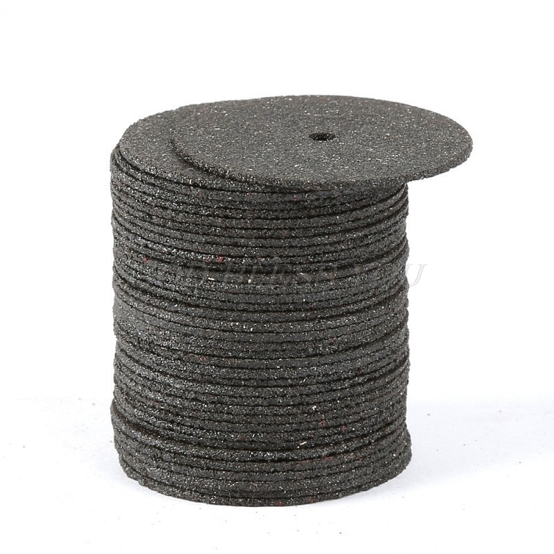 36Pcs Dremel Accesories 24mm Abrasive Cutting Discs Cut Off Wheels Disc for Dremel Rotary Tools Electric Metal Wood Cutting Tool