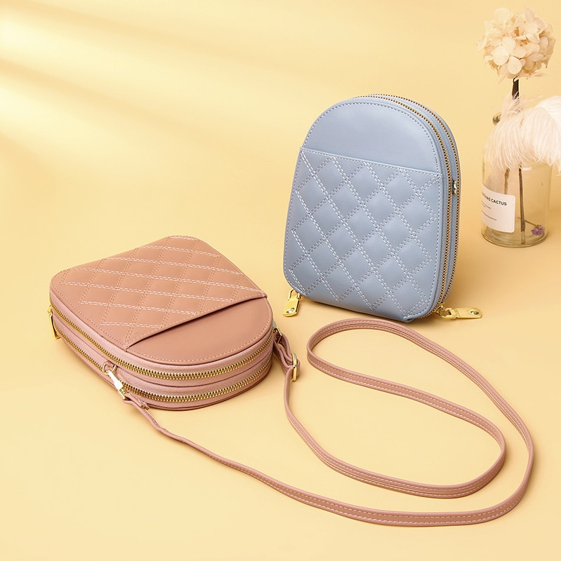 Women's Bag New 2021 Messenger Bag Fashion Korean Version Of The Wild Small Round Bag Tide Ladies Shoulder Bag