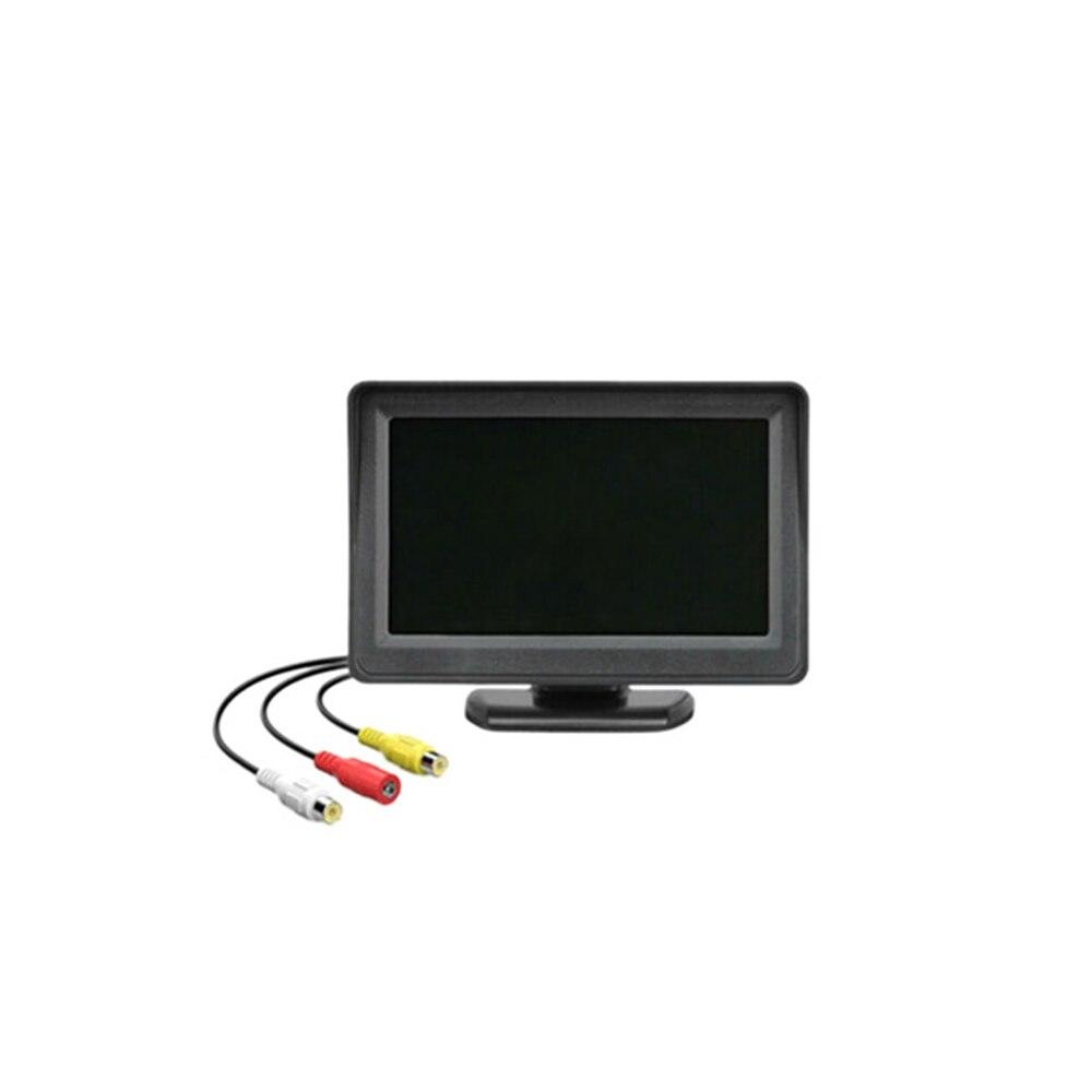 4,3 дюймовый TFT ЖК HD экран монитор Автомобильная камера заднего вида для парковки заднего вида Прямая поставка