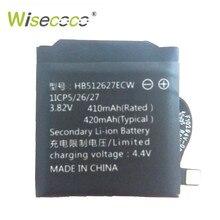 Wisecoco تسليم سريع 420mAh HB512627ECW بطارية ل سماعة هواوي 2 LEO-B09 SmartWatch بطارية عالية الجودة + تتبع عدد