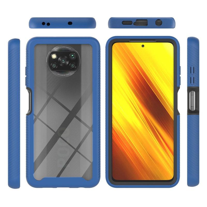 For Xiaomi Poco X3 NFC Case Luxury Armor Shockproof Phone Case For Xiaomi Poco X3 NFC Soft Silicone Bumper Protective Back Cover
