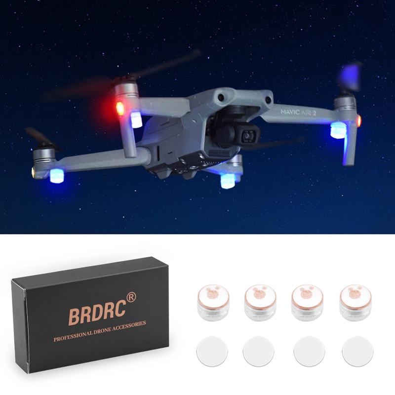 Универсальный ночное F светильник светодиодный светильник для DJI FPV COMBO Mavic Air 2 Mini/Air 2/Pro с переменным фокусным расстоянием/Spark/Phantom 3 4/для FIMI Дро...