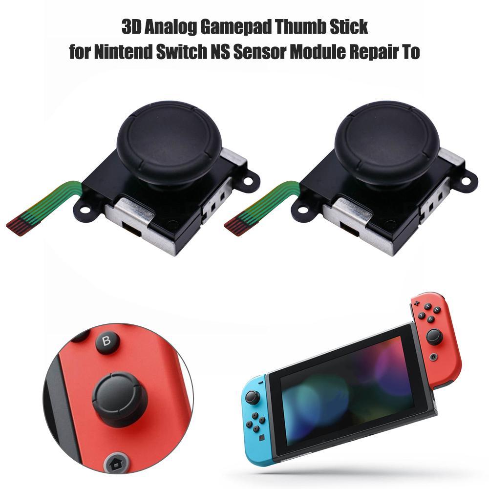 Joystick analógico 3D, empuñaduras de pulgar, tapa de botón, módulo de Control, pieza de repuesto para Nintendo Switch JoyCon NS, controladores Joy-Con