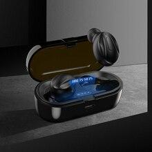 Bluetooth 5.0 Earphones Wireless Headphones IPX5 Waterproof Earphones Touch Control Wireless Headpho