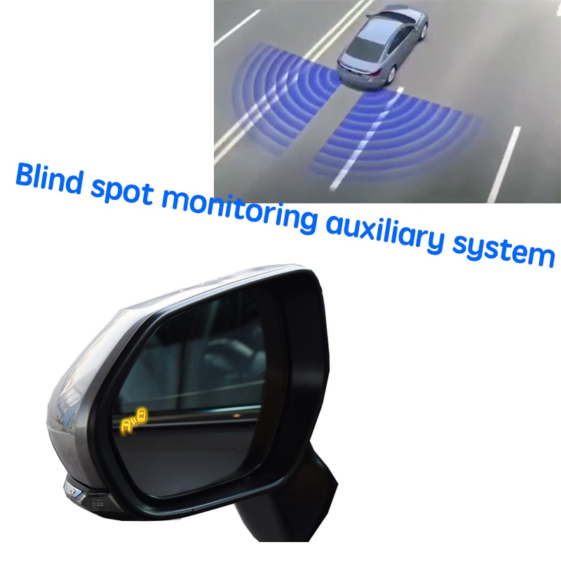 نظام كشف الرادار الخلفي للسيارة BSD BSM BSA لتحديد المناطق العمياء بمرآة للسيارة TOYOTA Avalon XX50 2018 2019 2020