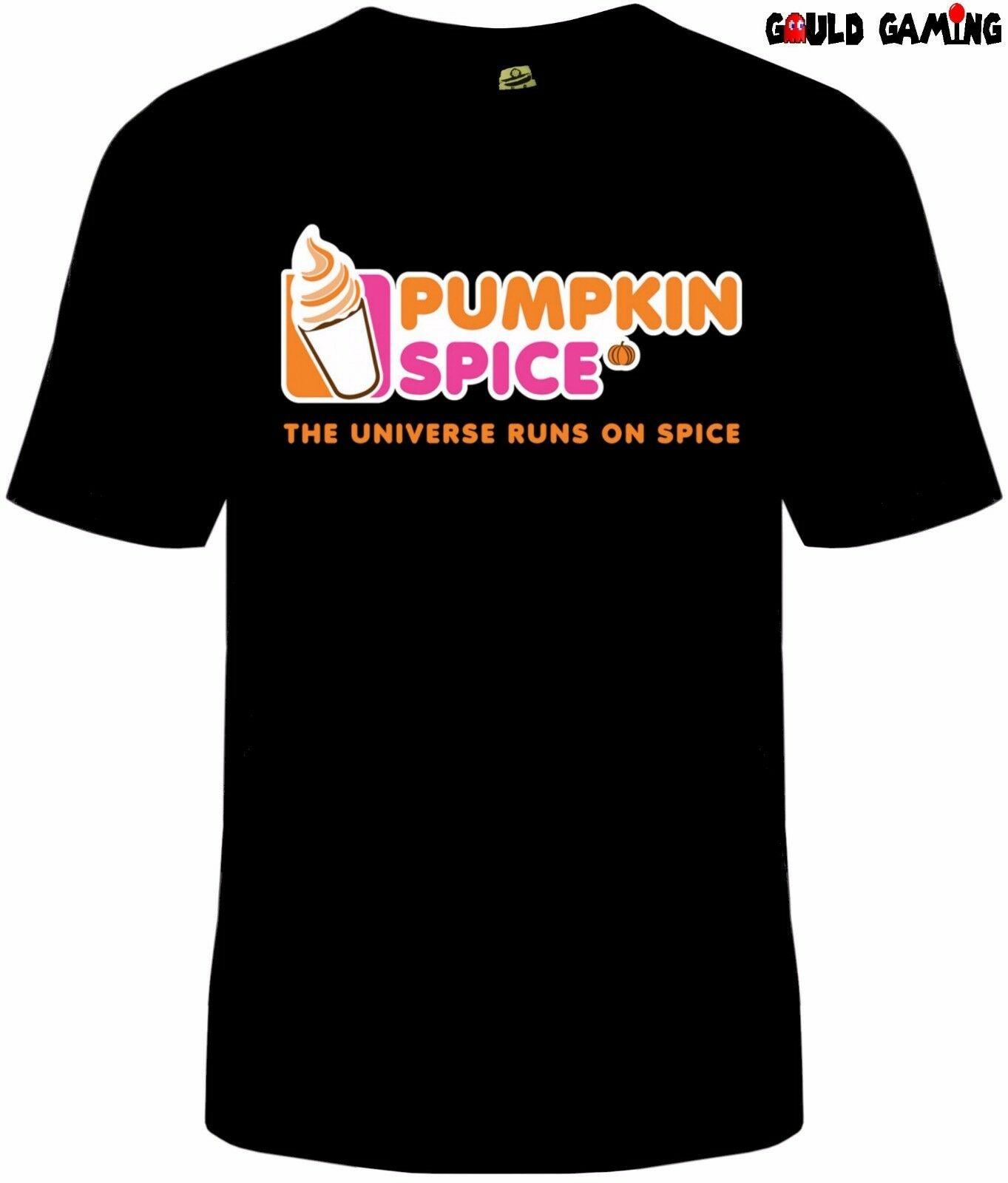 Pumpkin Spice Dunkin Donuts T Shirt Unisex Funny Coffee Halloween Sizes Fall New