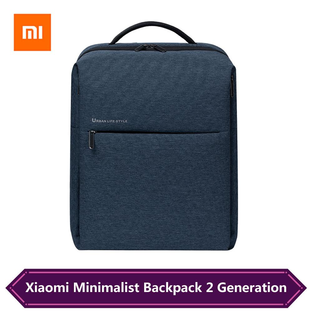 Оригинальные Xiaomi Mi рюкзаки, городской стиль жизни, рюкзак 2 поколения, портативная Дорожная Спортивная Сумка, школьная сумка для 15,6 дюймового ноутбука