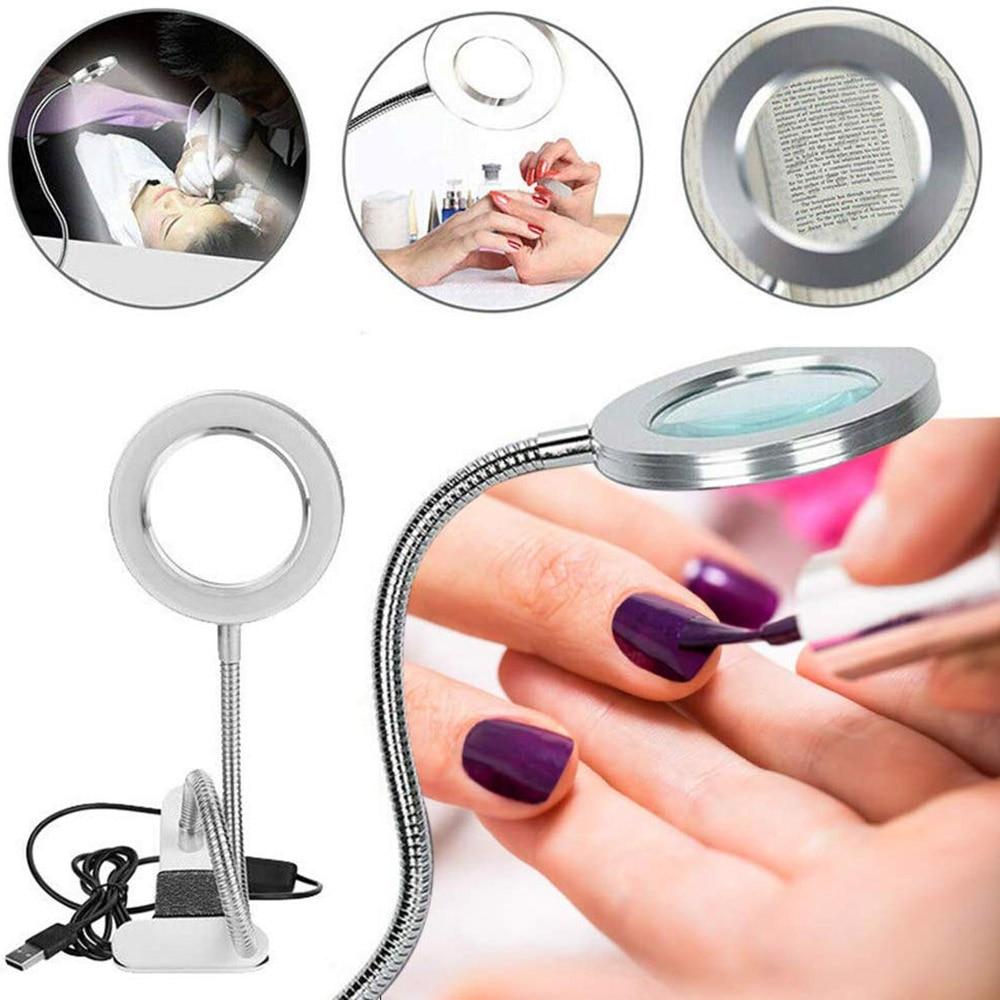 AliExpress - 1PC Makeup Illuminator Equipment Improved Tattoo Lamp with Clamp USB LED Lamp Student Eye Care Reading Light Portable Desk Lamp