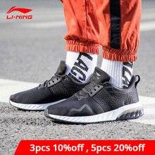 Li-Ning Men GEL GLOSS Lifestyle Shoes Wearable Anti-Slippery Cushion LiNing li ning Sport Shoes Classic Sneakers AGCN071 YXB212