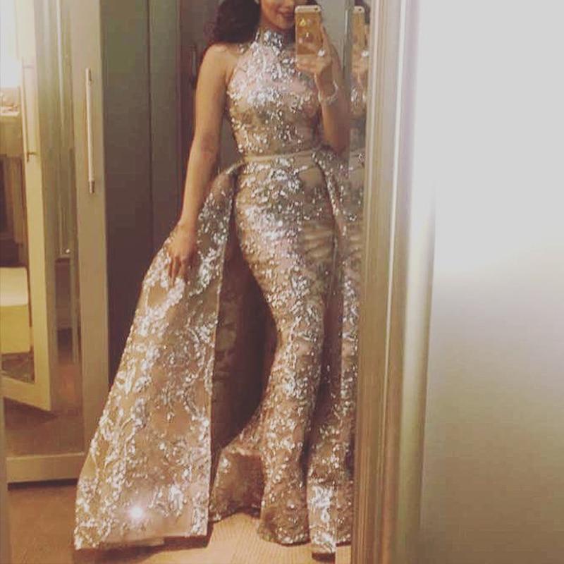 Vrouw jurk 2020 nieuwe bandage hoge kraag kant elegante avond vestido de festa vestido bandagem robe maxi vrouwen vestidos