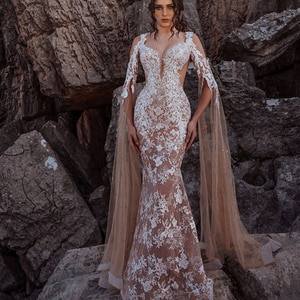 lace prom dresses 2020 sweetheart neckline lace appliques long sleeve champagne evening dresses long formal dresses
