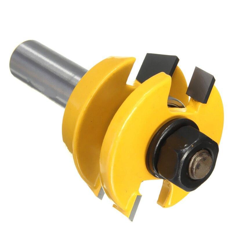 """Nuevo 2 uds Carril y Stile Router Bit 1/2 """"vástago Shaker cincel cortador de madera conjunto N1HF"""