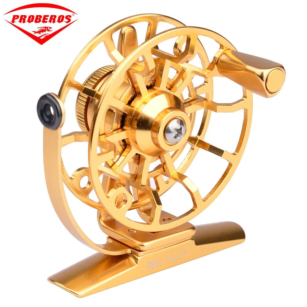 1pc Top Quality Fishing Reel Exported To Japan Glod/Silver Fly Reel 45g Fly Fishing Wheel Diameter 60mm HI45R/HI55R