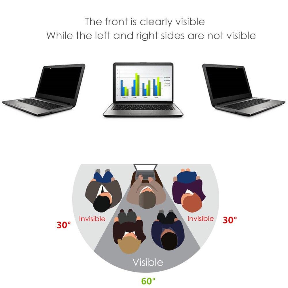 Película protectora de pantalla antideslumbrante con filtro de privacidad de pulgadas pequeñas para portátil Acer Aspire V5-121 NX. M82SI. 004