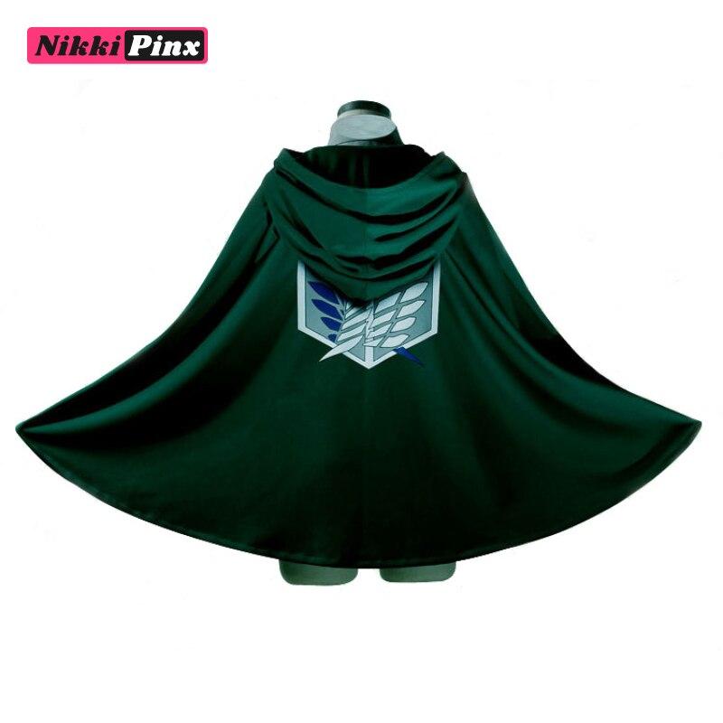 Kyojin Cloak Cape Attack on Titan Cosplay Costume Kimono Coat Uniform Set Anime Costumes Robe Japanese Shingeki Scouting Legion