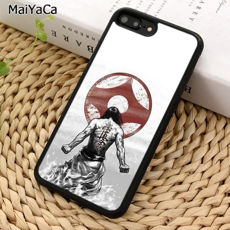 MaiYaCa Oyama historia del Karate para niños Kyokushin grados 02 funda para teléfono para iPhone X XR XS 11 Pro MAX 5 se 6 6 S 7 7 8 Plus, Samsung Galaxy S5 S6 S7edge S8 S9 S10