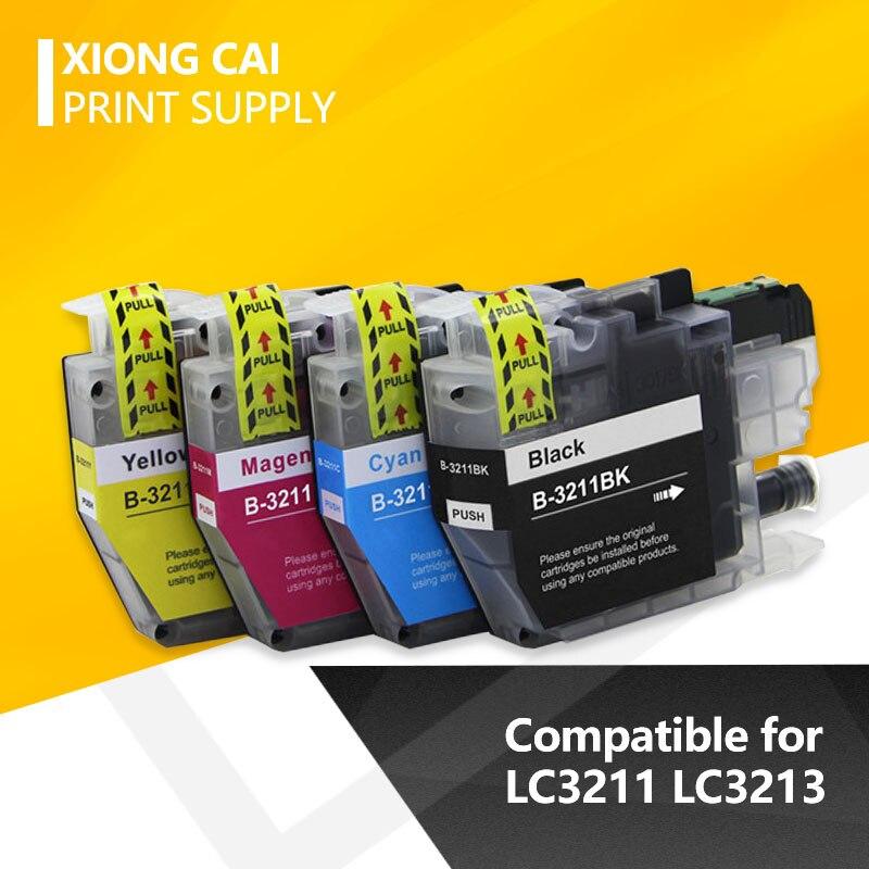 متوافق LC3211 الحبر خرطوشة لأخيه LC 3211 DCP-J772DW DCP-J774DW MFC-J890DW MFC-J895DW طابعات الحبر الكامل