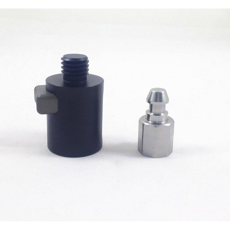 Фирменная Новинка RTK GNSS gps Quick Release адаптеры для gps палки Leica Trimble Topcon Sokkia 5/8x11 нить геодезические приборы