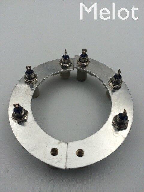 Rectificador de diodo RSK1001 ZX25-12 25A, envío gratis, compatible con cualquier alternador de marca, rectificador generador sin escobillas 164 184
