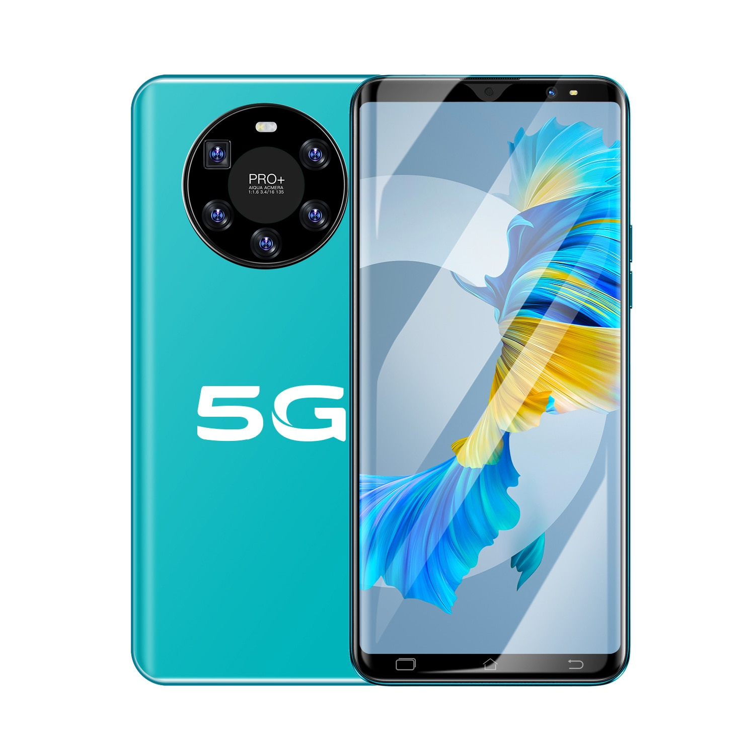 Hauwei Mate40 Plus Cell phone 8GB+256GB android 10.0 6.1 HDinch smartphones 16MP HDcamer Cellphones 4G/5G mobile phones enlarge