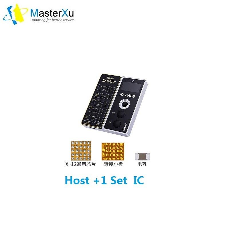 Qianli ID الوجه نقطة العارض مصفوفة المضيف و 1 قطعة FaceID IC آيفون X XR XS ماكس 11 11 برو 11 برو ماكس