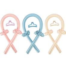 Heatless Curling Roller set Rod Headband Lazy Curler Silk Curling Ribbon Silk Curling Ribbon Heatles
