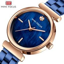 MINI FOKUS Frauen Uhren Neue Casual Mode Damen Kleid Uhr Top Marke Wasserdicht Quarz Damen Uhren Einfache Montre Relogio
