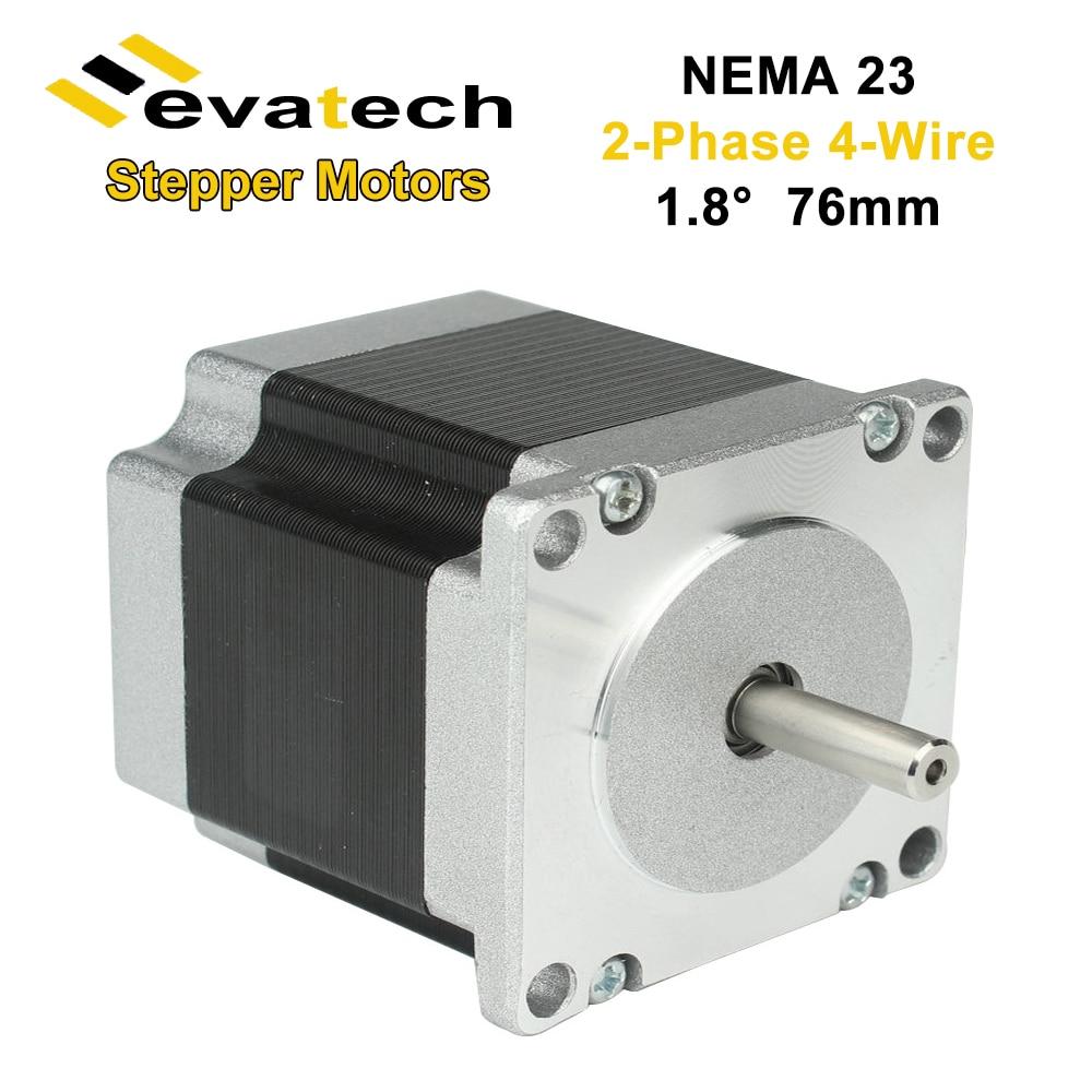 NEMA23 57BYGH محرك أشواط هجين جسم 76 مللي متر 1.89N.m 1.8 درجة أوقية/في ل طقم تحكم رقمي بالكمبيوتر آلة الحفر