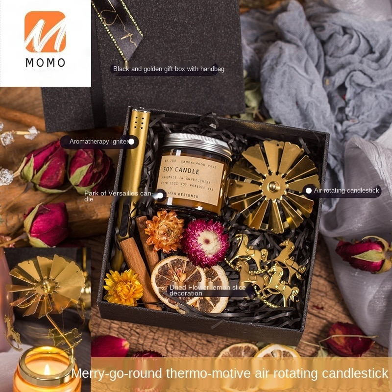 Aromatherapy Candle Gift Box Set Gift Gift for Girlfriends Hand Gift DIY Romantic Female Wedding Gift Birthday Fragrance