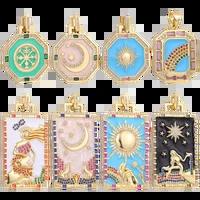juya handicraft enamel pendants supplies greek evil eye moon star charms for diy luxury collar jewelry making