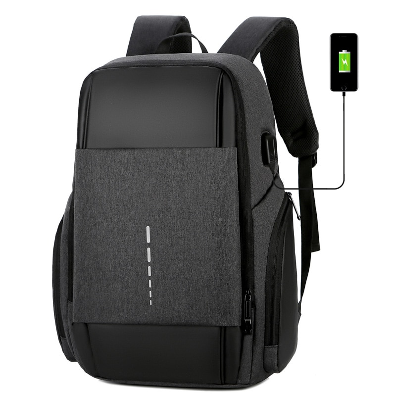 حقائب ظهر موضة رجال الأعمال مقاوم للماء كمبيوتر محمول 15.6