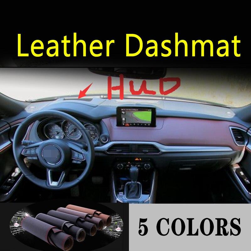 Für mazda cx9 cx-9 G2 2016 2017 2018 2019 2020 Leder Dashmat Dashboard Abdeckung Dash Matte Teppich Auto Styling zubehör