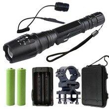 Z20 V5 lampe de poche led torche 8000 Lumen XM-L2/T6 Zoomable en aluminium étanche chasse lampe de poche torche lampe de poche lanterne