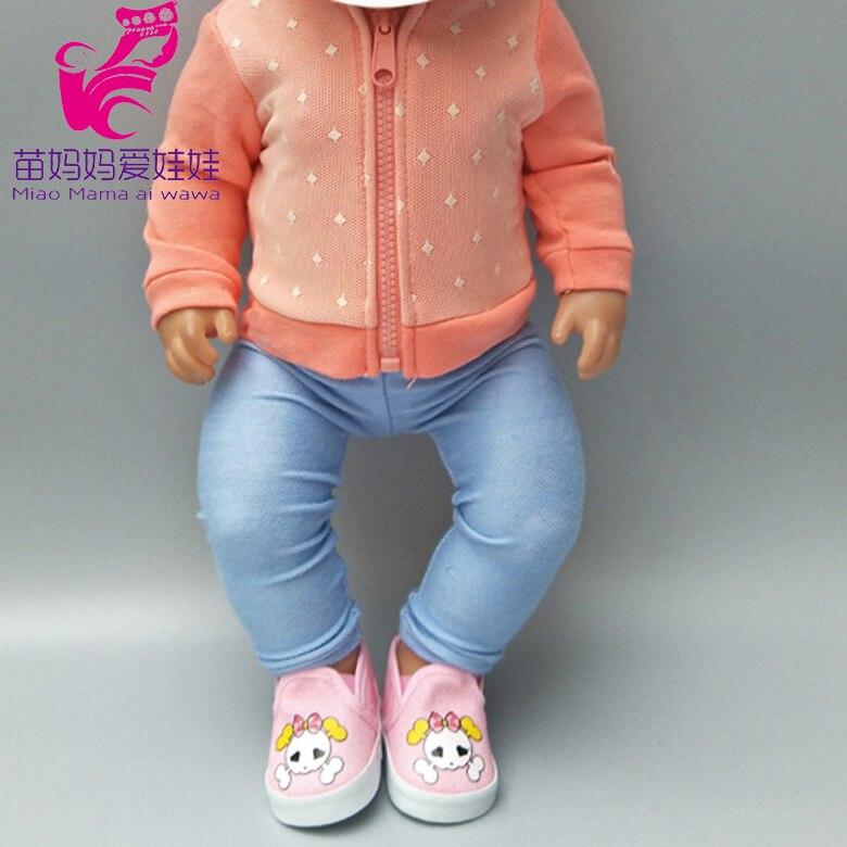 Roupa para bonecas de 43cm, vestido com 18. 0, boneca de bebê, casaco para boneca, crianças, ano novo pequeno presentes
