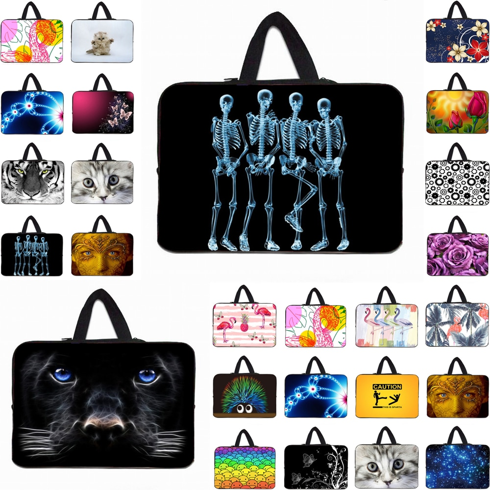 Universal Laptop Bag 13.3/14.1/15.6 Notbook Carry Handbag Sleeve Case For Macbook Computer Travel Po