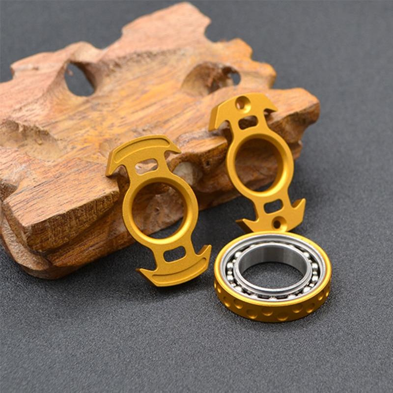 New Nuclear Reactor Model Metal Fingertip Spinner Adult Desk Toy Decompression Toy for Children Antistress Hand Spinner Toys enlarge