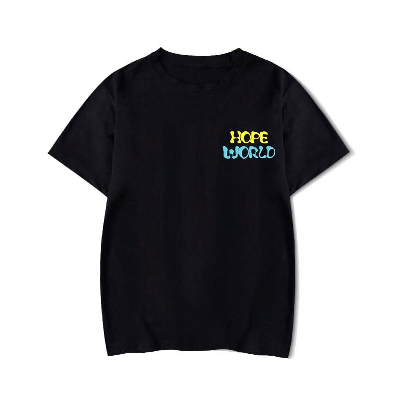 Rap Monster JIN SUGA J-HOPE JIMIN V JUNG, camiseta de KOOK LOVE YOURSELF, retrato de lágrima, camiseta graffiti de cómic