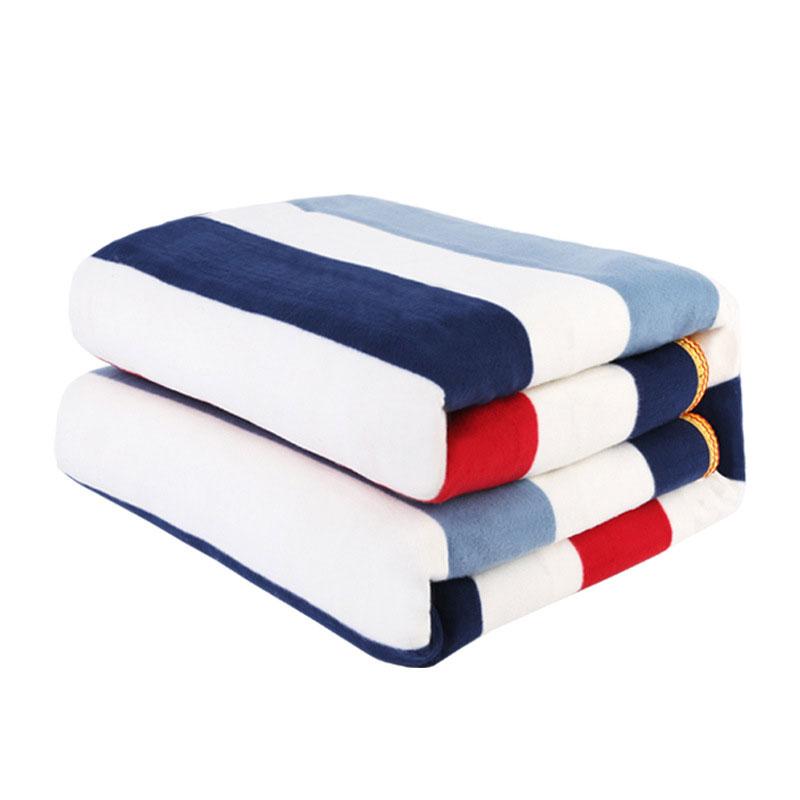 Manta eléctrica de doble cuerpo, 220v, 150x180cm, Manta calefactable, alfombra para productos...
