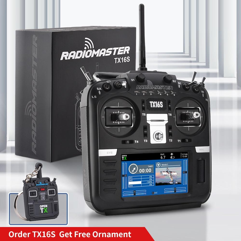 En Stock RadioMaster TX16S TBS V2 Sensor Hall Gimbals 2,4G 16CH Multi-protocolo RF SISTEMA DE OpenTX transmisor de Radio para RC aviones no tripulados