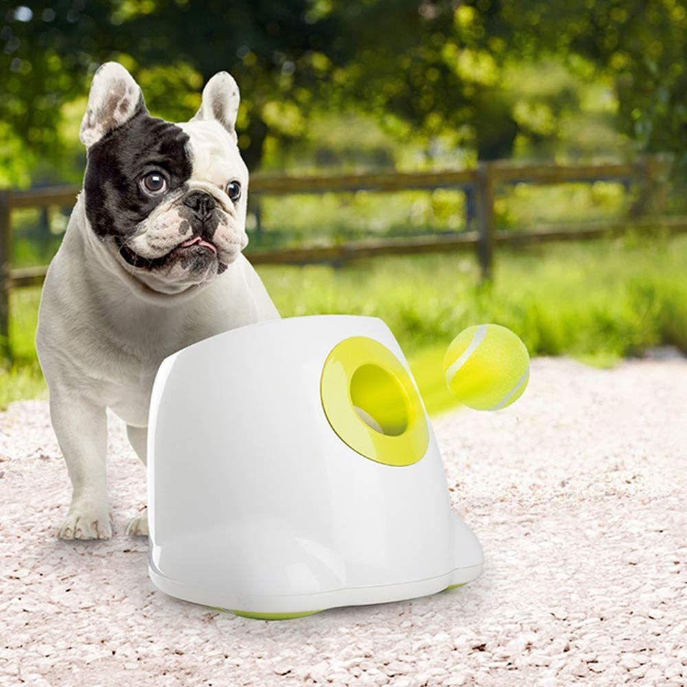 9M Dog thrower toys automatic tennis ball machine launcher dog ball thrower launcher Family outdoors Training Aids Pet Products