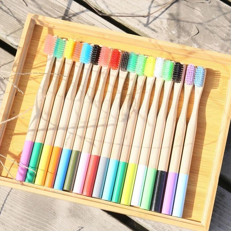10 Uds. de cerdas suaves de bambú para adultos productos de carcasa...