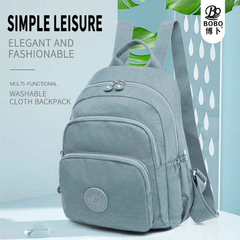Oxford Cloth Nylon Backpack Women's New Large Capacity Women's Backpack Fashion College Students Bag
