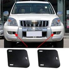 Car accessories For Toyota Land Cruiser Prado LC120 FJ120 2003-2009 Front bumper fog lights Side Baffle Cover